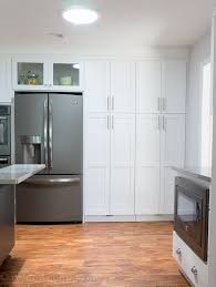 Glass Kitchen Wall Cabinets by Best 25 Pantry Cabinets Ideas On Pinterest Kitchen Pantry