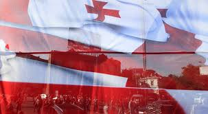 Georgian Flag Georgia Išsamiai Delfi Lt