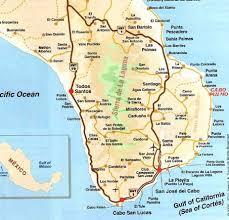map cabo mexico cabo pulmo map