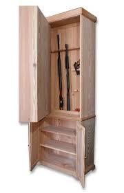 Free Wooden Gun Cabinet Plans Ogbroker Www Ogbroker Com Outdoor Gear Broker Adventure Pics From