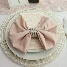 light pink dinner napkins blush napkins for weddings blush napkin 20 x 20 inches wholesale