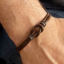 Handmade Mens Bracelets - 61 unique mens bracelets in different materials ring to perfection