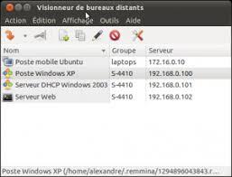 bureau distance ubuntu remmina documentation ubuntu francophone