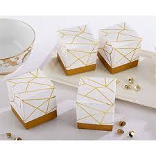 kate aspen favors kate aspen white and gold geometric favor bridal