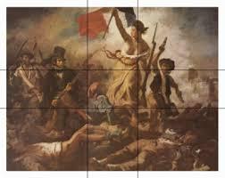 der goldene schnitt architektur eugène delacroix die freiheit führt das volk auf die barrikaden