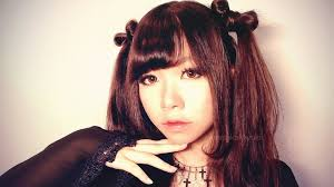 cute ribbon twintails hairstyle japanese style curled side bangs