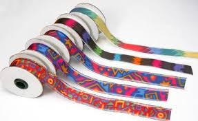 printed ribbons gift packing ribbons wholesaler from mumbai