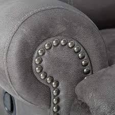 austere power reclining sofa austere power reclining sofa grey birts furniture