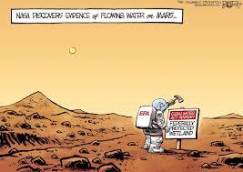 Nate Beeler Cartoons Susan Stamper Brown Trump Should Drain The Epa Swamp