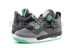 green glow 4 mentalkicks nike air 4 retro green glow gs gradeschool