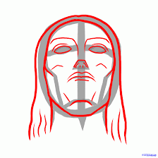 how to draw christ the redeemer christ the redeemer statue step