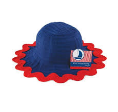 ric rac ribbon mud pie boathouse baby ric rac ribbon hat blue 0