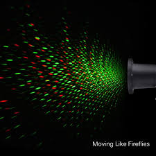 mictuning waterproof firefly christmas light projector with