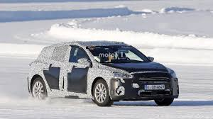 2018 ford focus prototype aka u0027paul u0027 spied ice skating