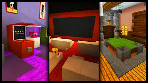 Minecraft Bedroom Ideas Minecraft Games Room Designs U0026 Ideas Youtube