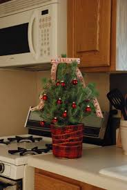 kitchen tree ideas decorating ideas 3 ways to decorate mini trees
