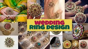 big fashion rings images Big kundan wedding ring designs jpg