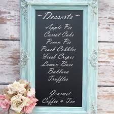 Decorative Chalkboard For Home by Chalkboards Blackboards Large Framed Mirrors By Revivedvintage