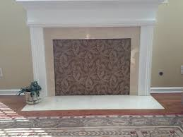 fireplace cover up cover fireplace opening think billion estates 92732