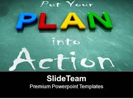 strategic planning powerpoint templates three horizontal stages