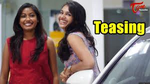 Hotwife Tease - couple of teenage girls teasing a boy in public youtube