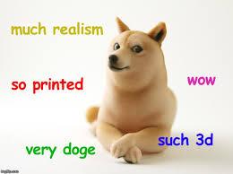 printed doge imgflip
