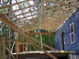 prefabricated roof trusses container house roof trusses