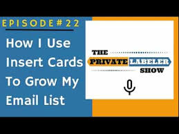 fba tips how i m growing my email list with insert cards