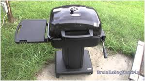 backyards modern backyard pedestal 22 inch charcoal grill 141