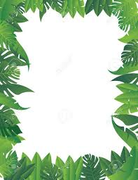 jungle leaves background clipart cliparts and others art inspiration