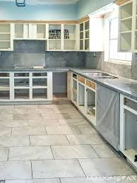 Refinish Oak Kitchen Cabinets by How Much To Resurface Kitchen Cabinets Hitmonster