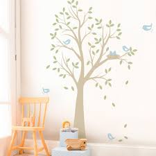 tree with birds and nest decal tree with birds and nest wall decal