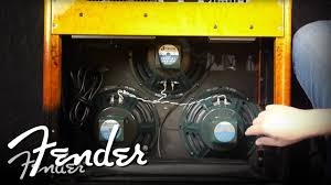 fender mustang 1 speaker upgrade how to changing amplifier speakers fender