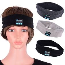 men headband bluetooth smart headband w headphones mic for men women must