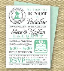 post wedding reception invitations destination wedding invitation post destination wedding