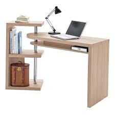 Einfacher Schreibtisch Schreibtisch Bürotisch Schwenkbar In Eiche Sonoma Ebay