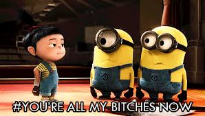 Despicable Me Meme - you re all my bitches now despicable me know your meme