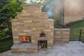 Pizza Oven Outdoor Fireplace by Kurzhals Family Wood Fired Outdoor Brick Pizza Oven And Outdoor