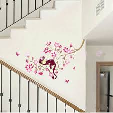 cherry blossom home decor decoration ideas great interior design ideas with monkey pink