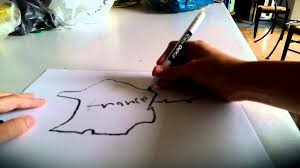 Blank Map Of France For Kids by If I Were Asked To Draw A Map Ep20 S1 France Youtube