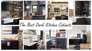 number fifty three the best dark kitchen cabinets u0026 an announcement