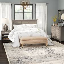 laurel foundry modern farmhouse valencia queen panel headboard