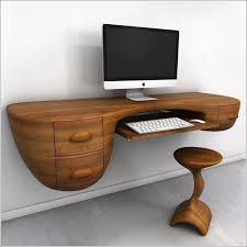 unique wood wall in wall computer desk wall mounted corner desk modern home design