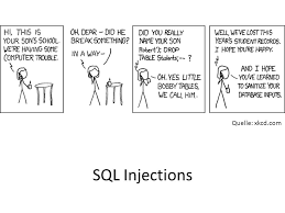 Bobby Tables Xkcd Quelle Xkcd Com Sql Injections Ppt Herunterladen