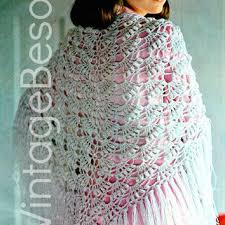 Vintage Crochet Pattern Pdf Fashion by Best Vintage Crochet Shawl Patterns Products On Wanelo