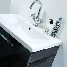 roper rhodes envy 600mm modular bathroom vanity anthracite en600g