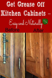 What To Use To Clean Greasy Kitchen Cabinets Best Ways For Cleaning Wood Cabinets Cleaning Wood