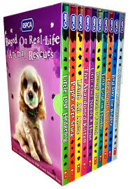 rescue pets rspca animal 10 childrens books collection set ebay