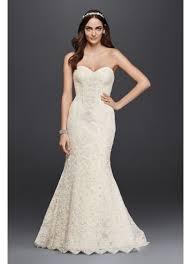 as is beaded lace trumpet wedding dress david u0027s bridal