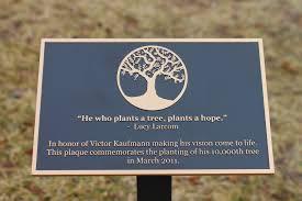 bronze memorial plaques cast bronze garden plaque with stake memorial garden tree flickr